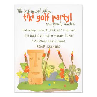 Tiki Golf Custom Announcements