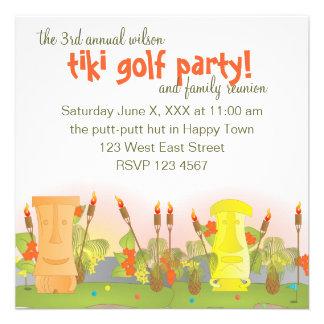Tiki Golf Invite