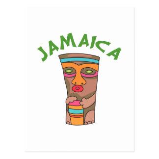 TIKI JAMAICA POSTCARD