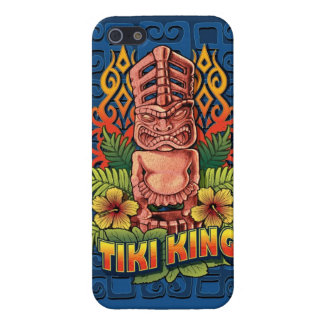 Tiki King Blue iPhone 5 Cover