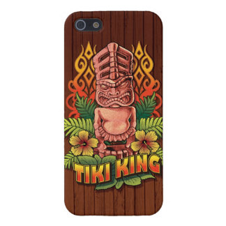 Tiki King Wood Case For iPhone 5/5S