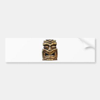 Tiki Man Bumper Sticker