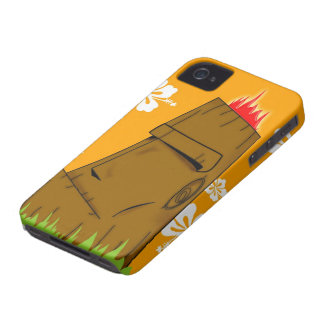 Tiki man iPhone 4 Case-Mate case