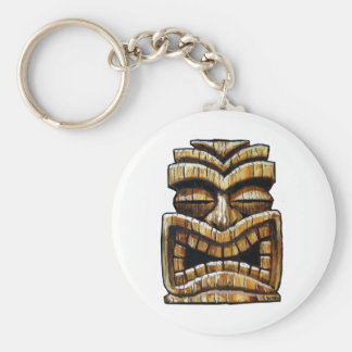 Tiki Man Key Ring