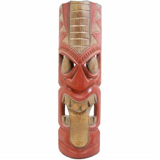 Tiki Mask 1 Key Chain Photo Sculpture