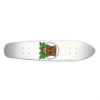 Tiki Mask Skateboard Deck