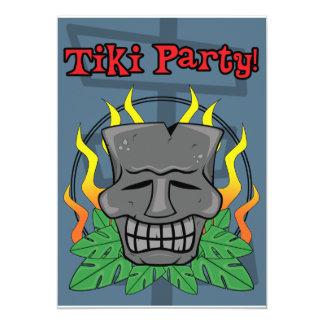 Tiki Party Invitation