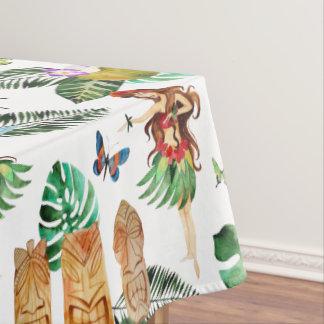 Tiki Party Tablecloth