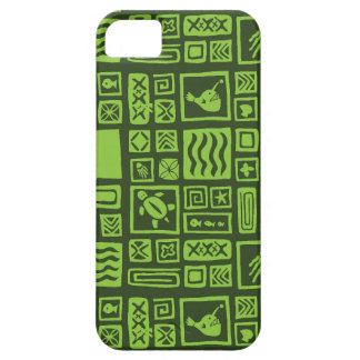 Tiki Pattern Barely There iPhone 5 Case