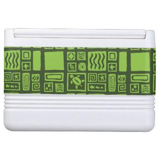 Tiki Pattern Igloo Cooler