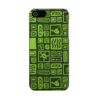 Tiki Pattern Incipio Feather® Shine iPhone 5 Case