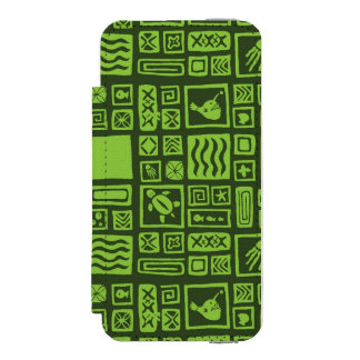 Tiki Pattern Incipio Watson™ iPhone 5 Wallet Case