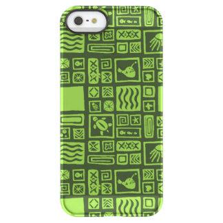 Tiki Pattern Permafrost® iPhone SE/5/5s Case