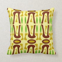 Tiki Rainforest Pattern Cushion