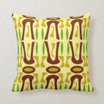 Tiki Rainforest Pattern Cushion