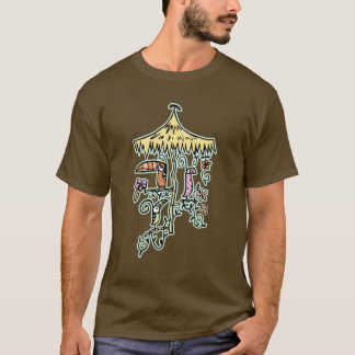 Tiki Room Birds by Tiki tOny T-Shirt