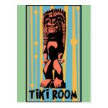 Tiki Room Post Card