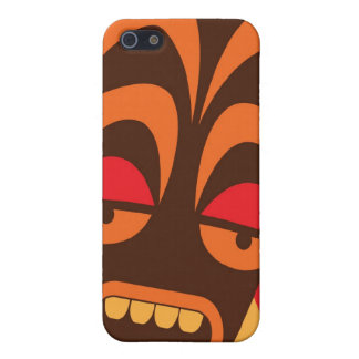 TIKI SCREAM! have a FREAKY Halloween! iPhone 5/5S Cases