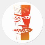 Tiki Sticker