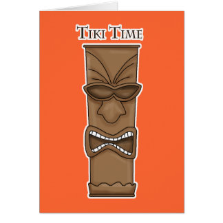 Tiki Time Invitation