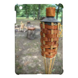 Tiki Torch and Camp Fire iPad Mini Cases