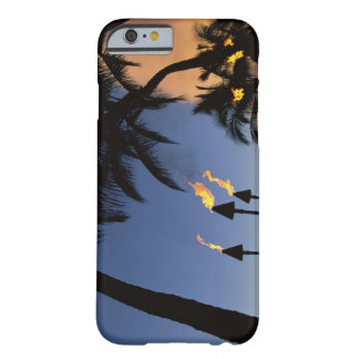 Tiki Torches Hawaii Barely There iPhone 6 Case