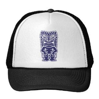 tiki totem warrior girl tribal trucker hat