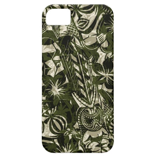 Tiki Trader Hawaiian iPhone 5 Case