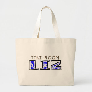 TikiRoomLiz Jumbo Tote Bag