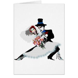 'Til Death Do Us Part - Day of the Dead wedding Card