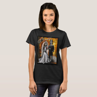 """""""Til Death Do Us Part"""" -Women's Black T-shirt"""