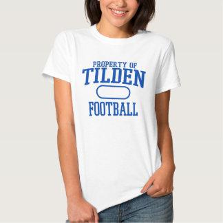 Tilden Football Tee Shirts