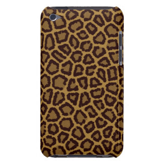 Tile background with a leopard fur iPod touch cover
