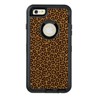 Tile background with a leopard fur OtterBox iPhone 6/6s plus case
