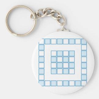 Tile Basic Round Button Key Ring