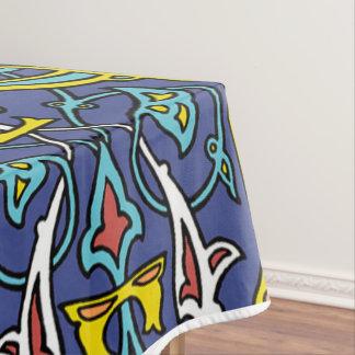 Tile Cotton Tablecloth