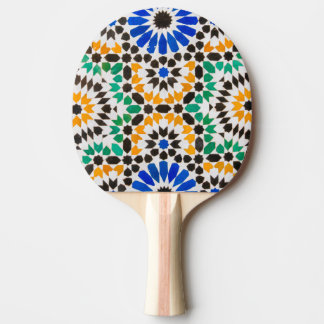 Tile decoration at Bahia Palace Ping Pong Paddle