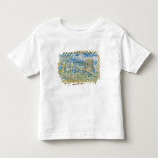 Tile depicting the Story of Noah Toddler T-Shirt