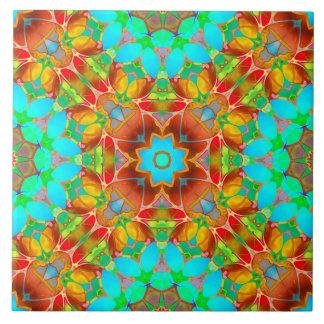 Tile Floral Fractal Art G410