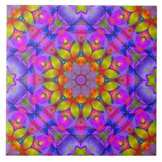 Tile Floral Fractal Art G445