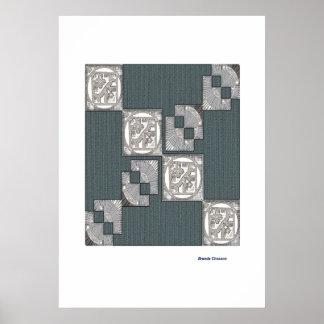 Tile Impression Print