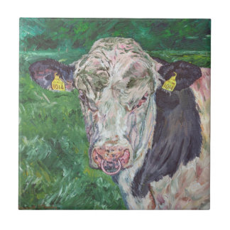 Tile - Irish Friesian Bull