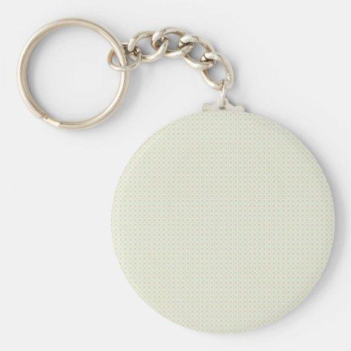 Tile pattern key chain