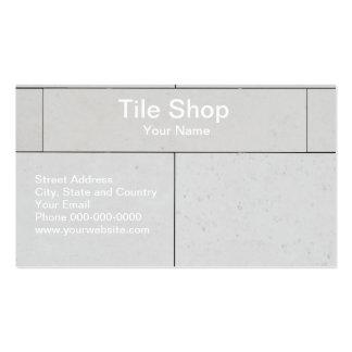 Tile Shop Business Card Business Card