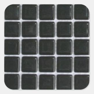 tile-sticker-black-glass-squares square sticker