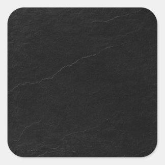 tile-sticker-black-slate-squares square sticker