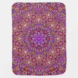 Tile Style Kaleidoscope    Baby Blankets