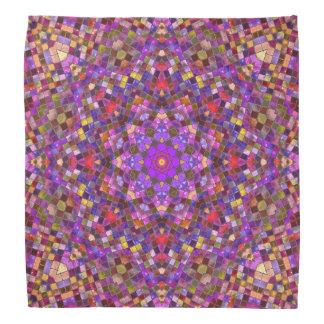 Tile Style Pattern Bandana