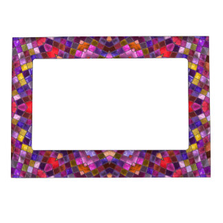 Tile Style Pattern   Magnetic Picture Frames