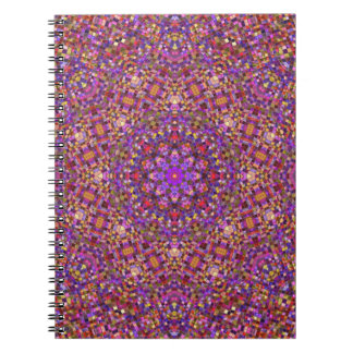 Tile Style Pattern Notebook